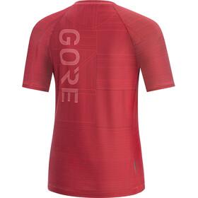 GORE WEAR M Line Brand Shirt Dames, hibiscus pink